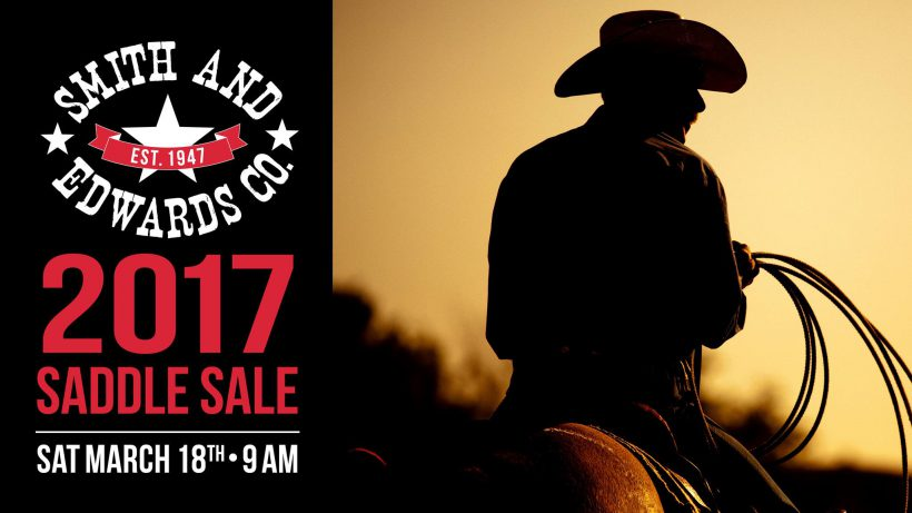 2017 Western Saddle Sale at Smith & Edwards
