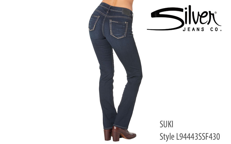 Silver Suki straight leg L94443SSF430 women's jeans