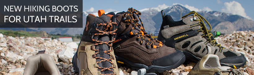 New hiking boots for Utah trails are at Smith & Edwards