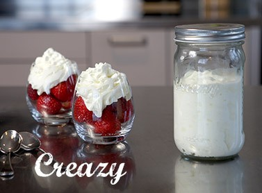 Yummy homemade whipped cream in minutes