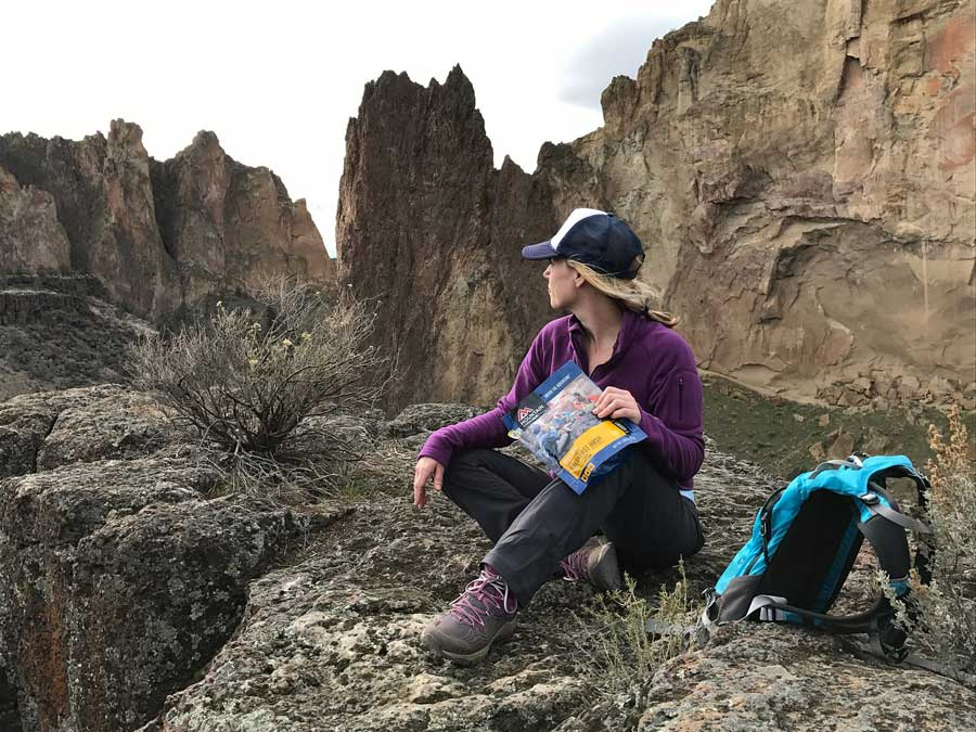 Take your Mountain House meals with you, wherever you hike or climb!