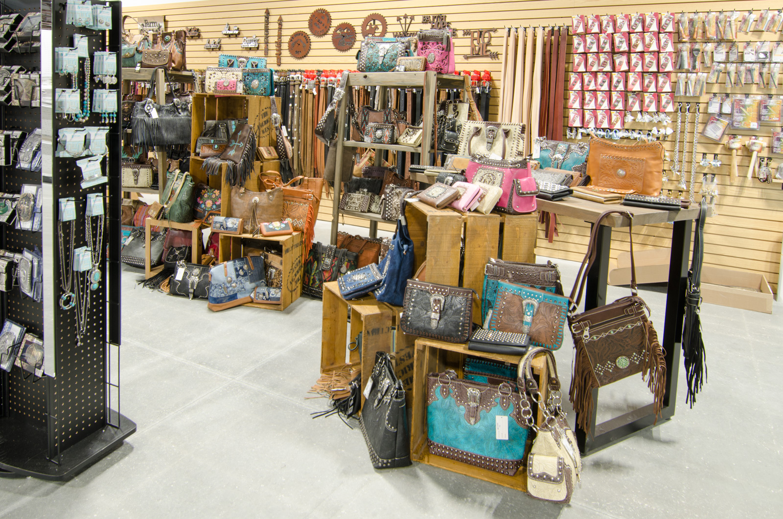 Western purses and accessories