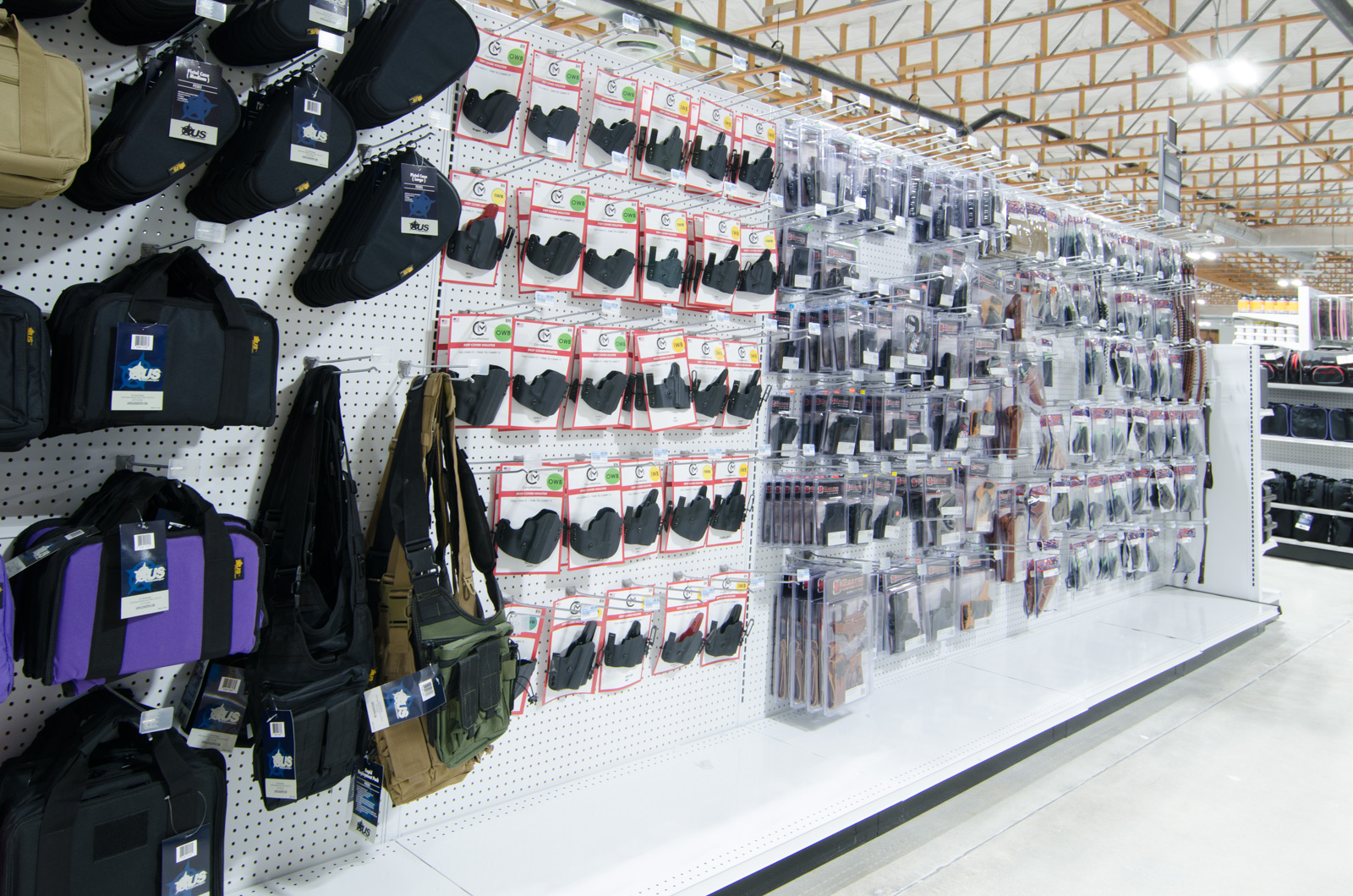 Holsters for conceal carry.