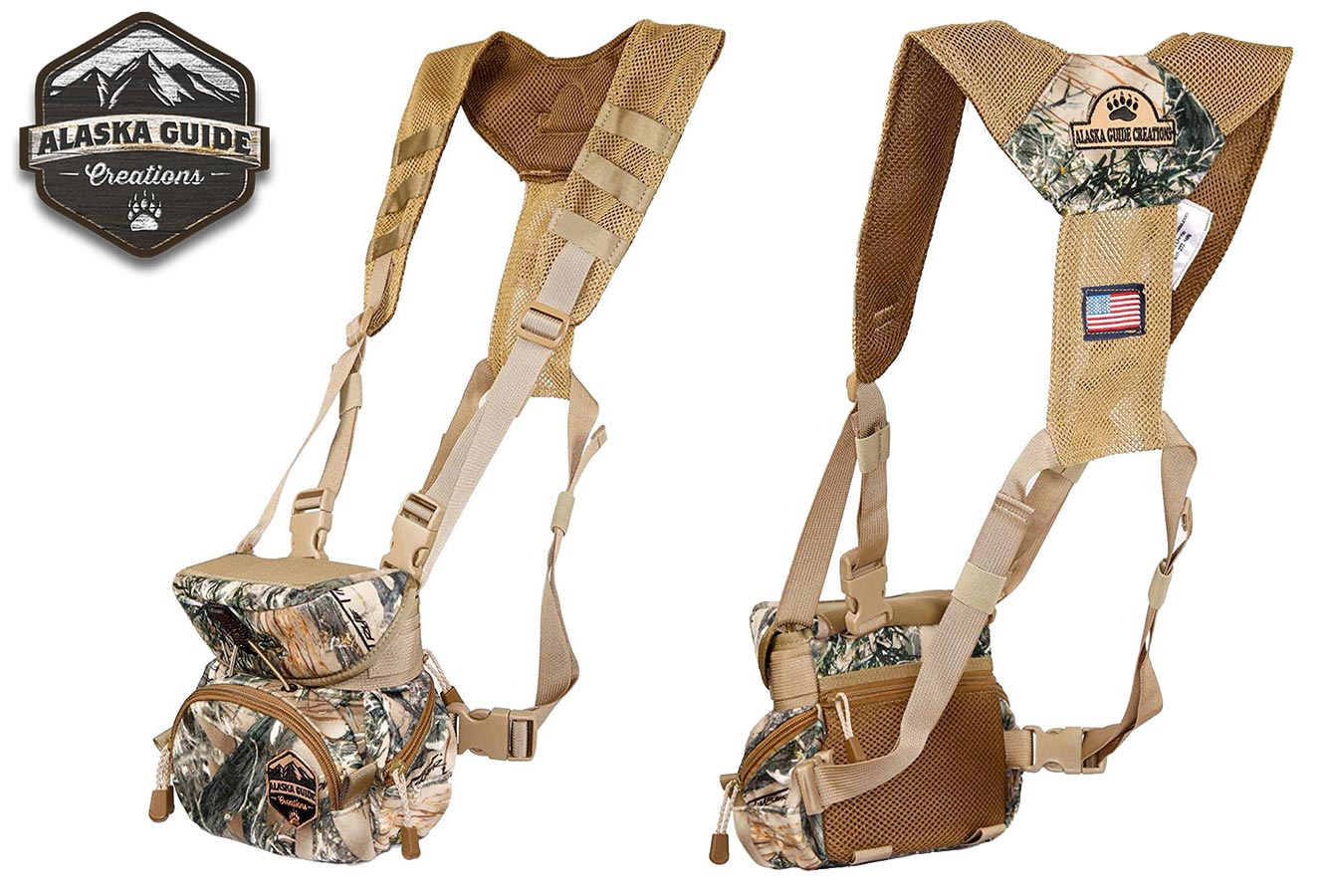 Alaska Guide Creations quiet camo binocular case