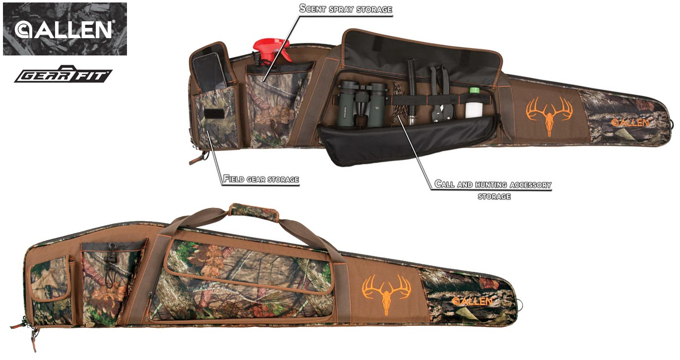 Allen Big Game Hunting Rifle Case: Gear Fit Pursuit Bruiser case with pockets