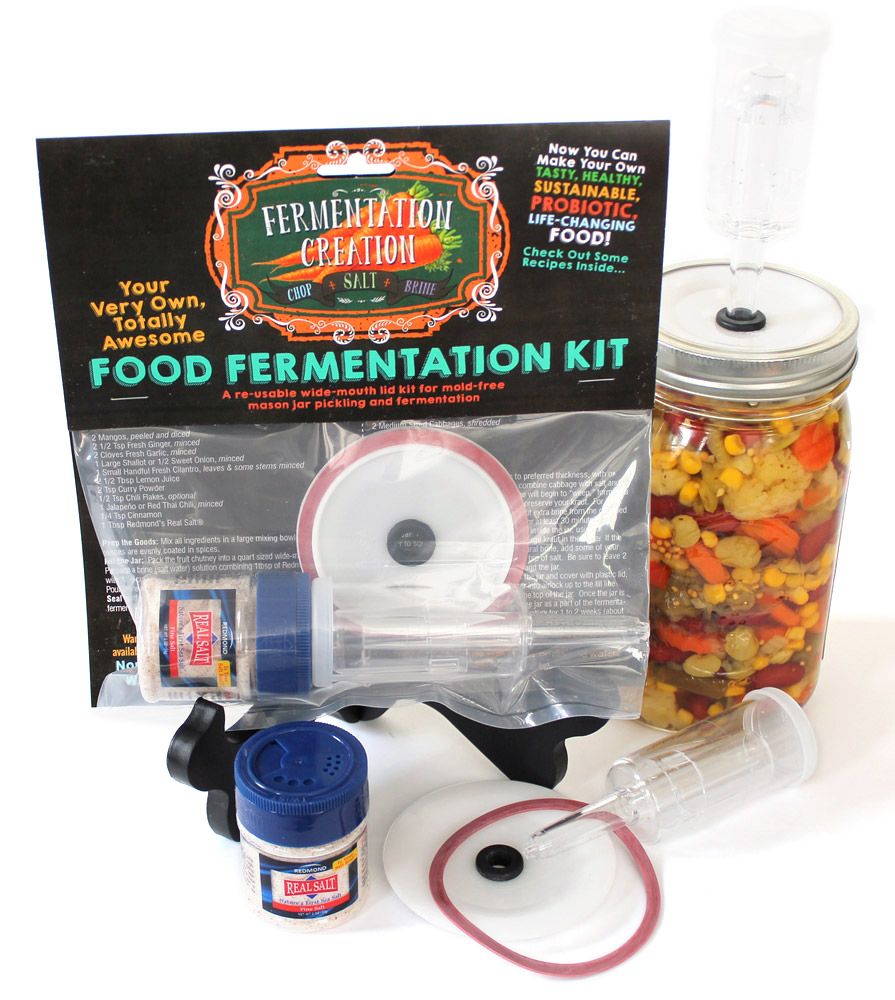Lid Kit Fermentation Creation, jar not included.