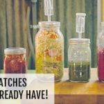 Pickle & Ferment in small batches with your own mason jars.