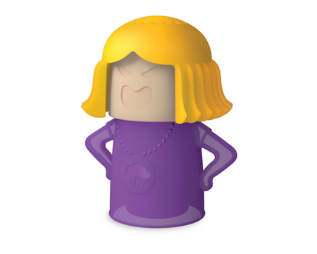Purple Angry Mama Microwave Cleaner