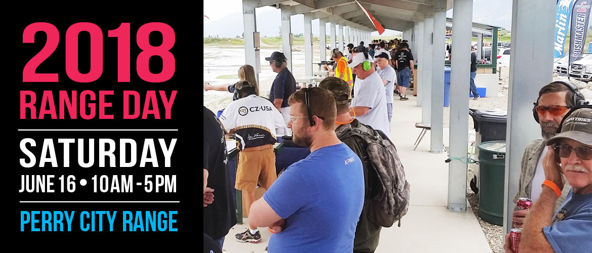Come to Range Day 2018 at the Perry Three Mile Creek Range on Saturday, June 16!