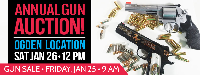 Gun Auction Jan 26, 2019 at Smith & Edwards