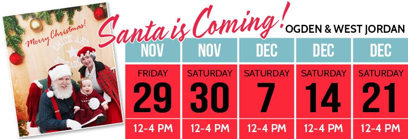 Santa Schedule 2019
