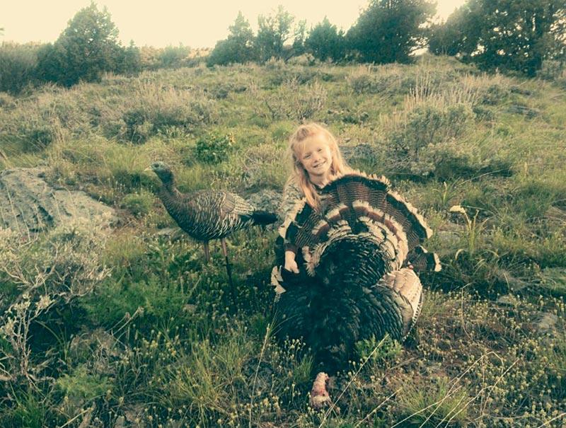 Sabrina and her bird