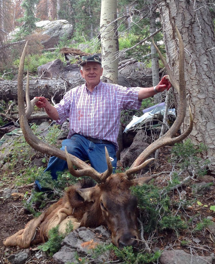 Jay Barker and his Elk