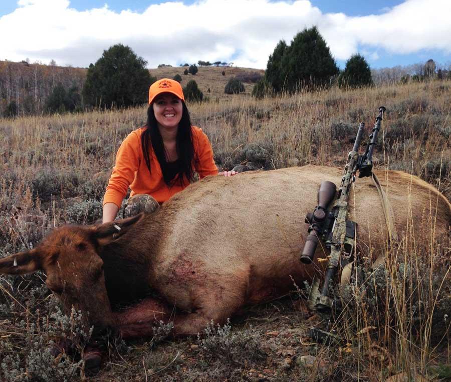 Bekah's HUGE Cow Elk!
