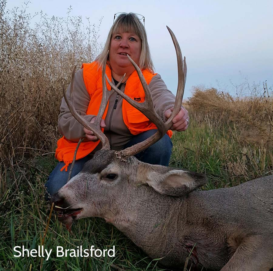 Shelly Brailsford's mule deer
