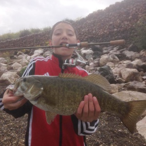 Truman and his small mouth bass