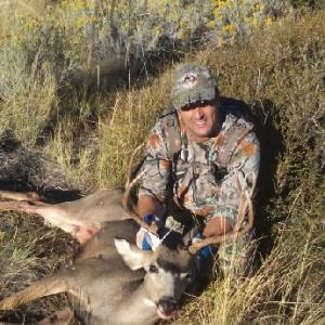 Scott's muzzleloader buck