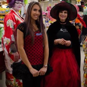 Geisha Amanda, Ladybug Anna, & Joy the Witch!