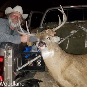 Scott Woodland's whitetail deer view #1
