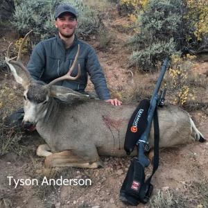 Tyson Anderson's mule deer