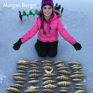 Morgan Berger's winter catch